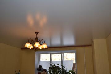 Сатиновые натяжные потолки низкая цена